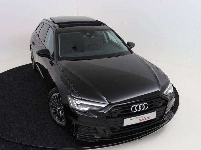 Audi A6 Avant 55 TFSI e 367 pk quattro Competition | Panoramadak | Assistentiepakket Tour | Keyless Entry | Optiekpakket | Trekhaak | Verlengde Fabrieksgarantie afbeelding 11