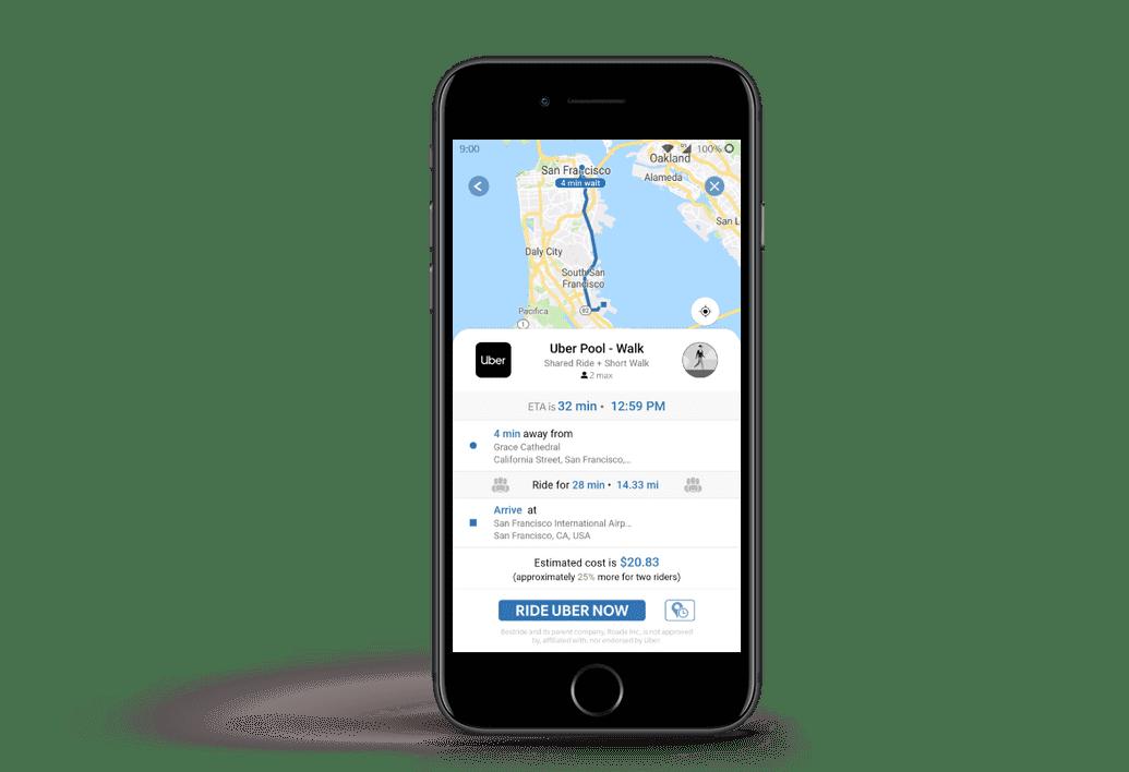 Roade Uber Ride Screenshot