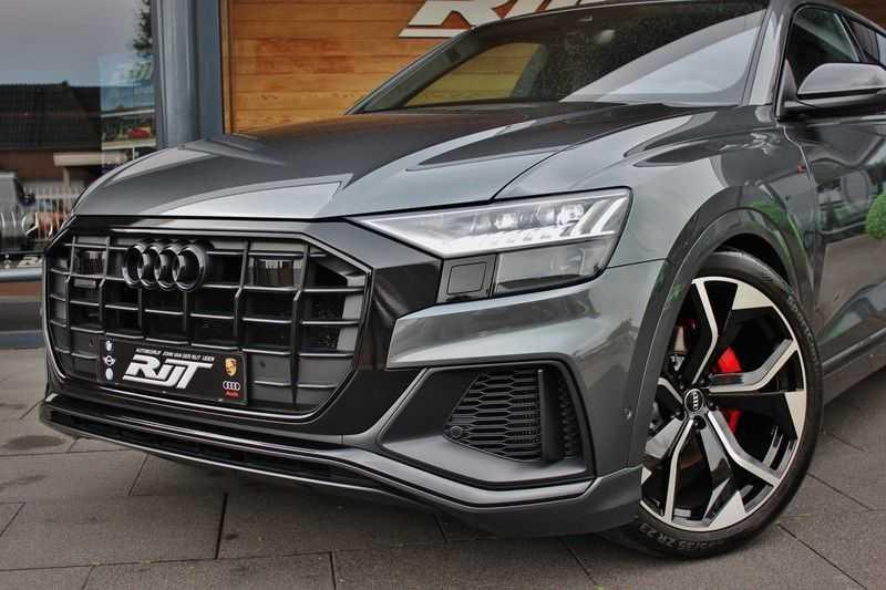 Audi Q8 50 TDI Quattro 3x S-Line 3.0 V6 286pk **HUD/Luchtvering/ACC/Elek.Trekhaak/B&O/Matrix.LED** afbeelding 10