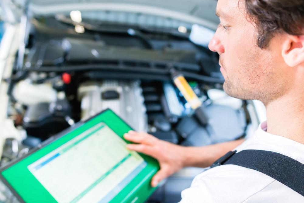 fleet vehicle diagnostic test