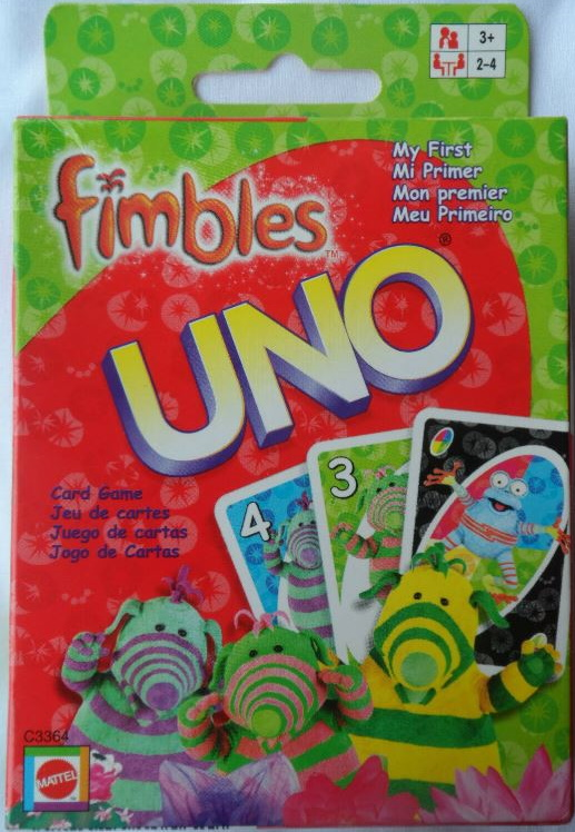 Fimbles My First Uno