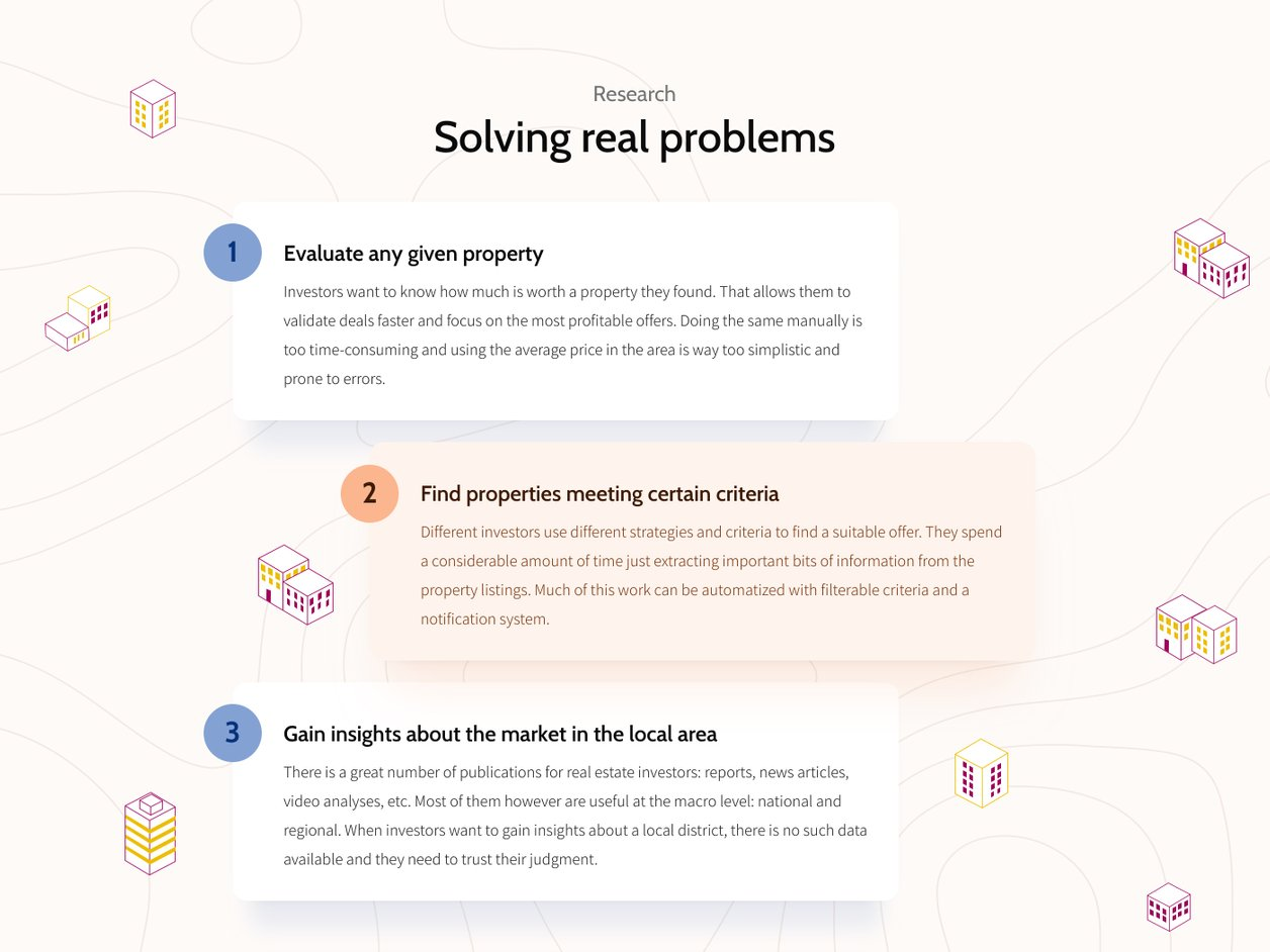 User Experience Design Problems - UX Design | Property Deal Genie