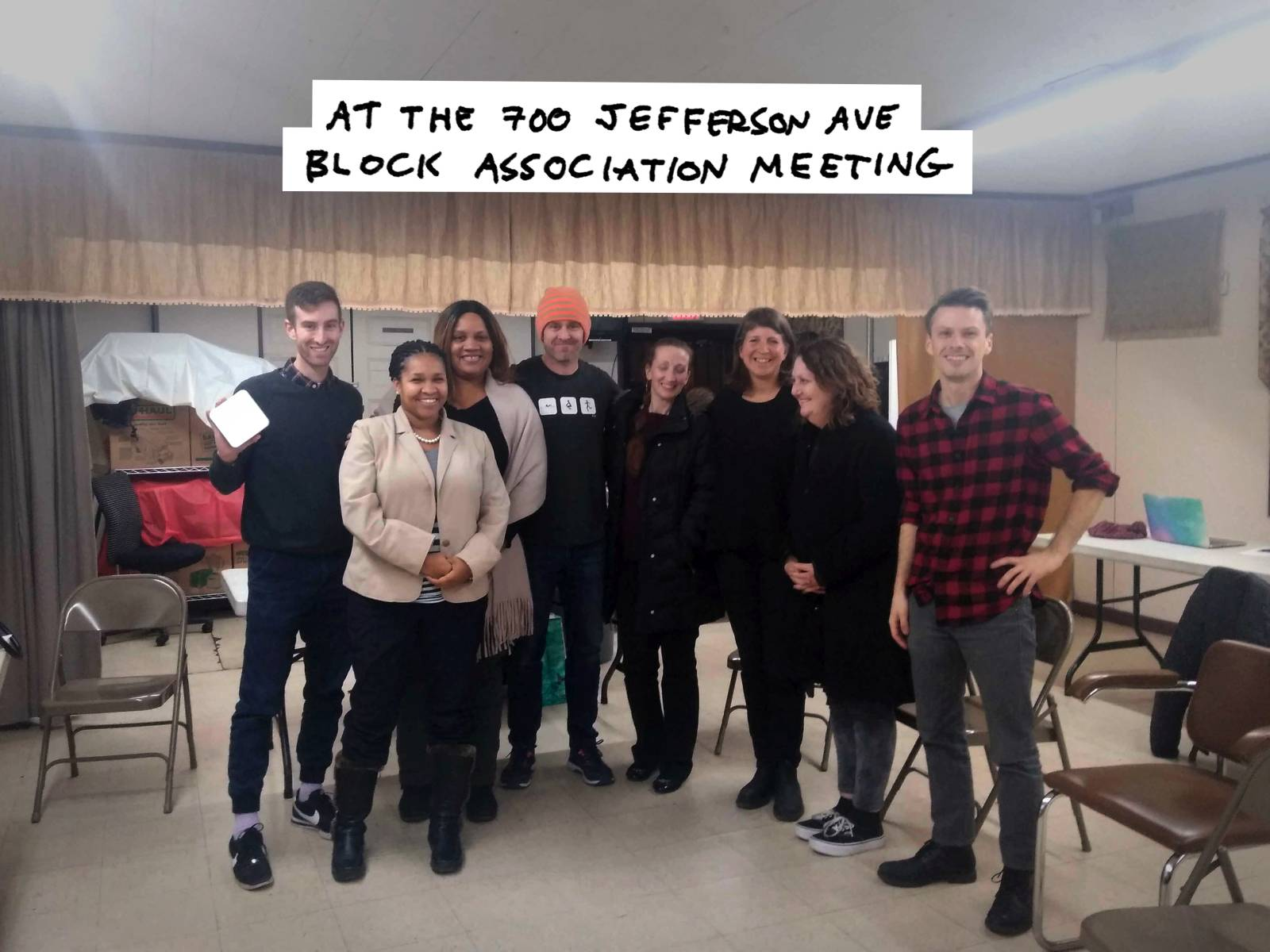 Block association meeting