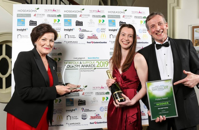 Potters wins Best Staff Training award