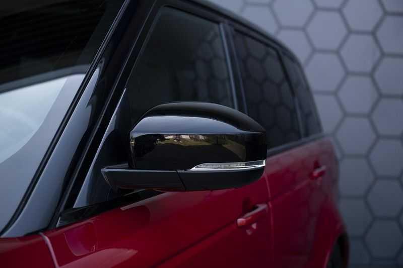 Land Rover Range Rover Sport SVR 5.0 V8 SC Meridian Reference Audio + Head Up + 360 Camera + Gekoelde/Verwarmde voorstoelen + Verwarmde  Achterbank + Carbon Motorkap Met Luchthappers + Ambianceverlichting afbeelding 8