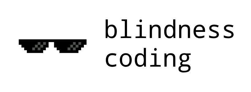 Blindness coding