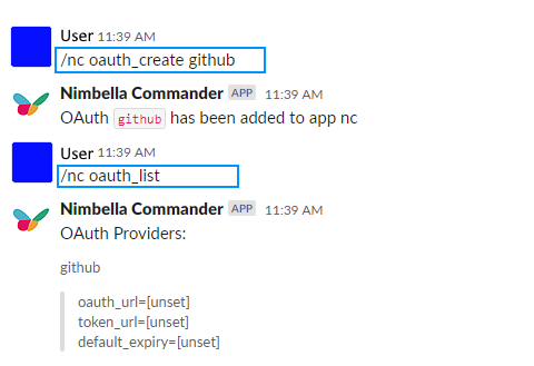 Create GitHub as an OAuth provider in Commander