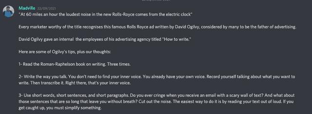 Madville Shares Secrets From Rolls Royce Marketer, David Ogilvy