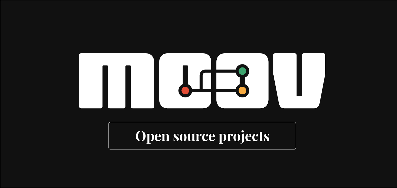 Moov's open source projects
