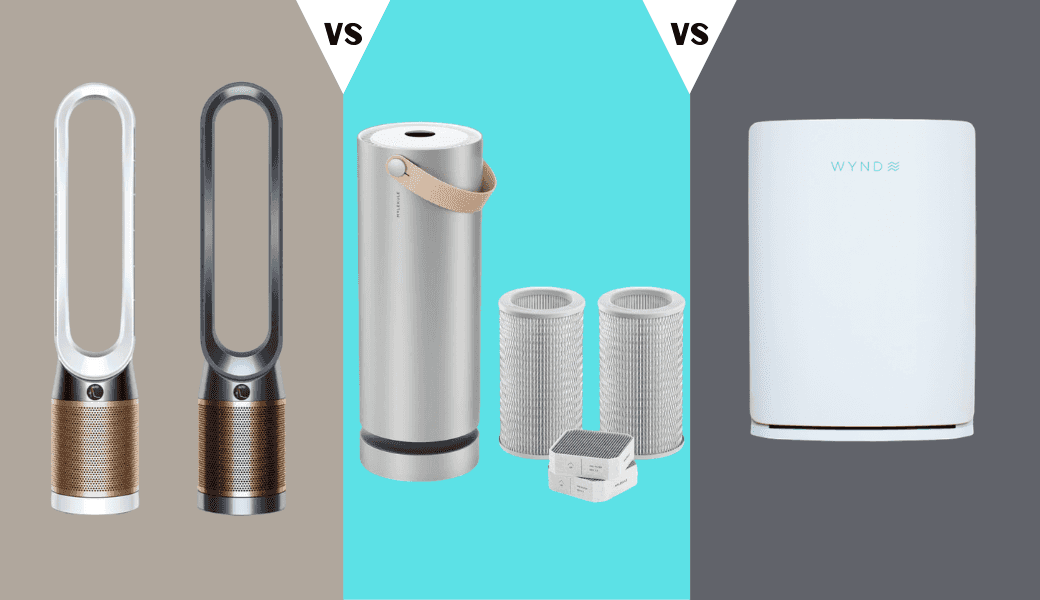 Best Air Purifiers Reviewed, Dyson vs. Molekule vs. Wynd cover image