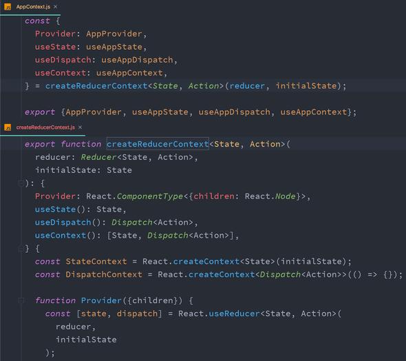 createReducerContext usage example