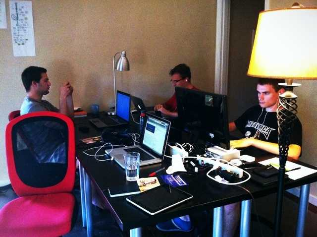 A bunch of talented engineers from my 2 months in a YC startup in 2011