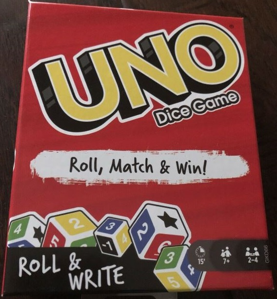 Uno Dice Game (2019)