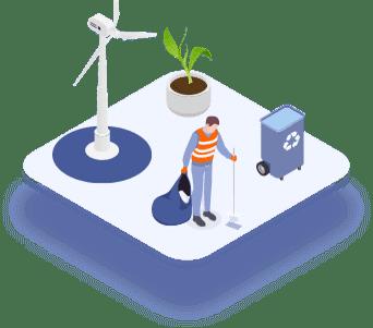 Medio ambiente, recuperación, clasificación y reciclado