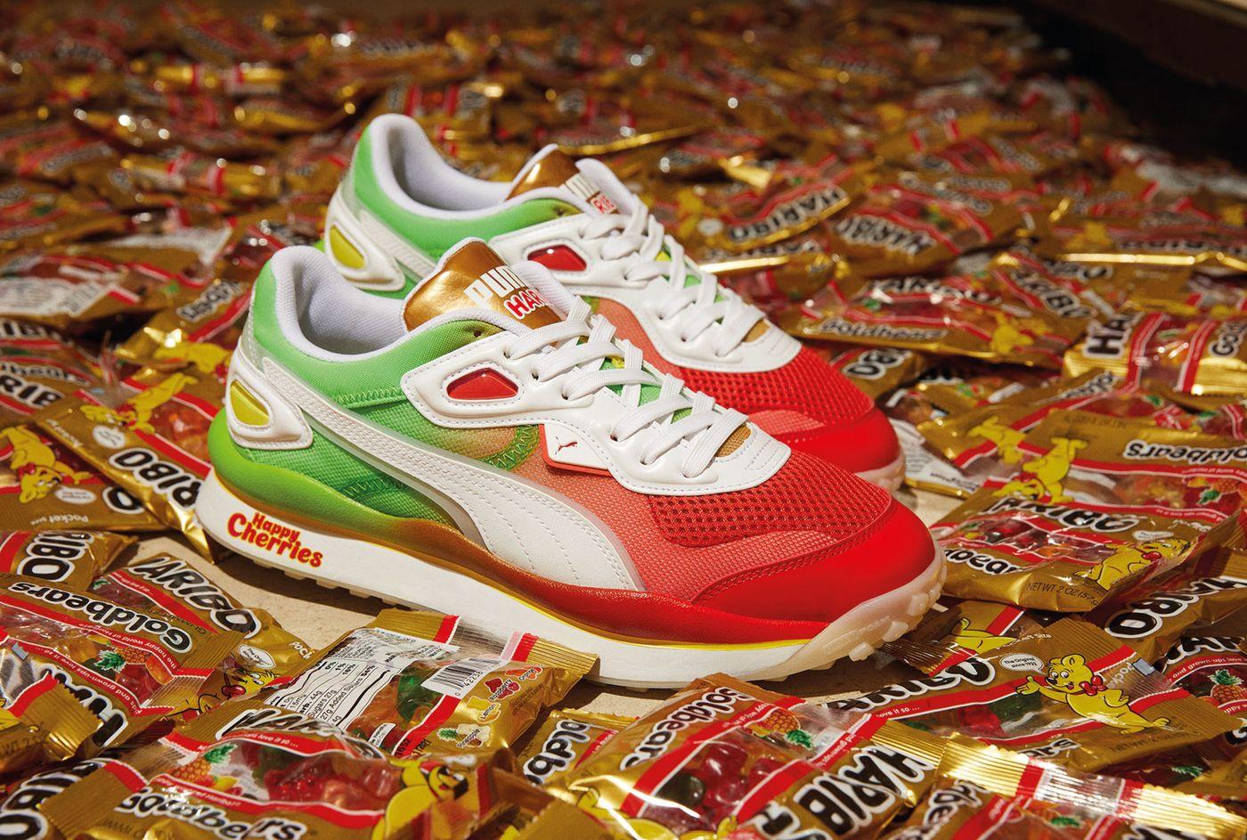 Haribo x Puma Footwear