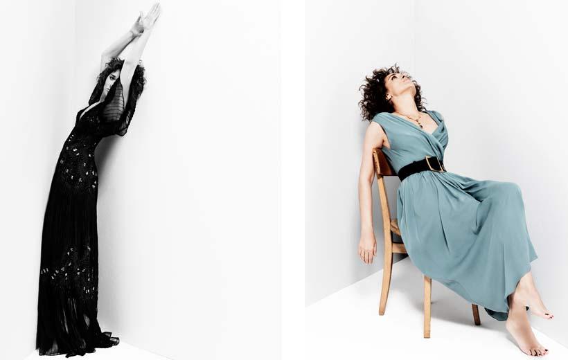 Elisabetta Cavatorta Stylist - Valeria Golino - Sven Baenziger - Grazia
