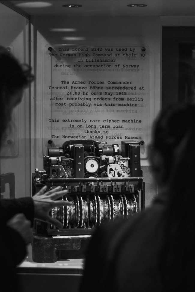 Back to Bletchley Park