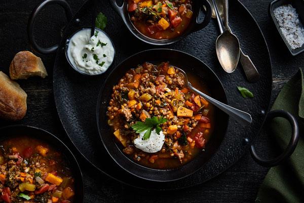 Moroccan Spiced Lentil Soup