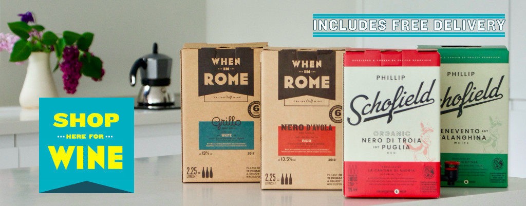 Click here to buy our wine in a box from Flavourly with free delivery