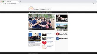Web Site of Kursiljo Croatia
