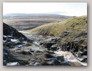 Cauldron Snout waterfall in Upper Teesdale  » Click to zoom ->
