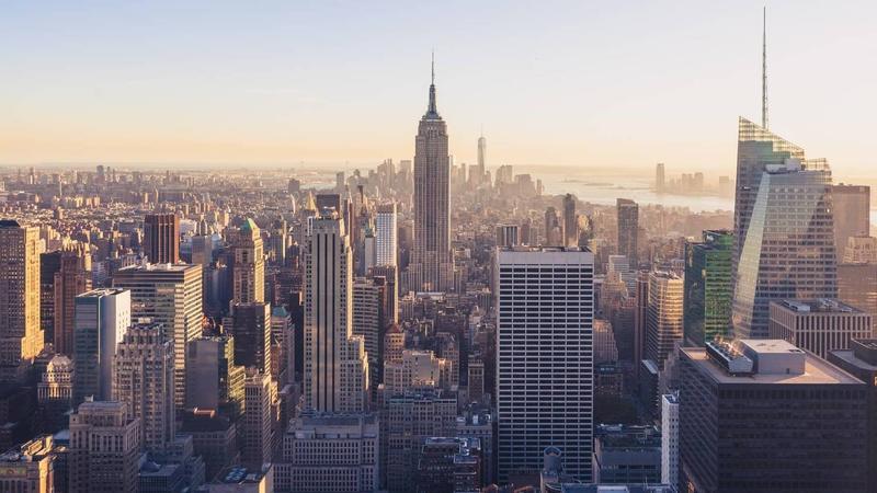 Ljudje živijo v New Yorku