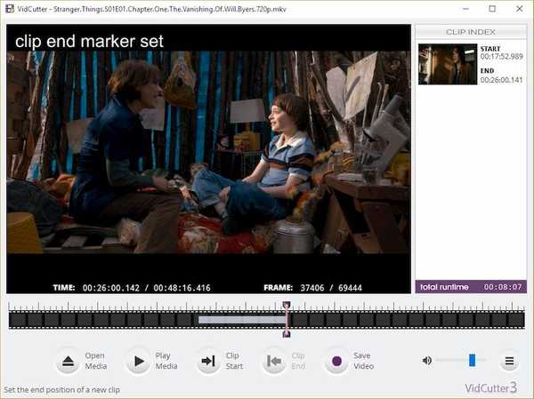 VidCutter best open source video editor