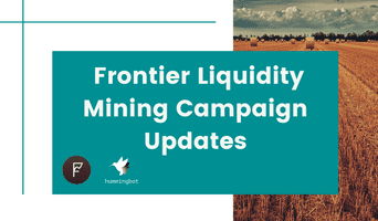 Frontier Binance and KuCoin liquidity mining campaigns with $75k worth of total rewards