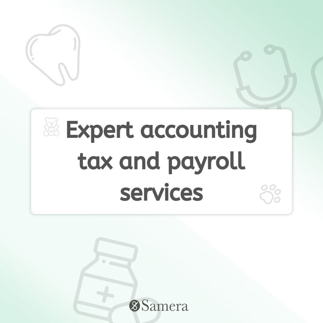 Expert accounting tax and payroll services