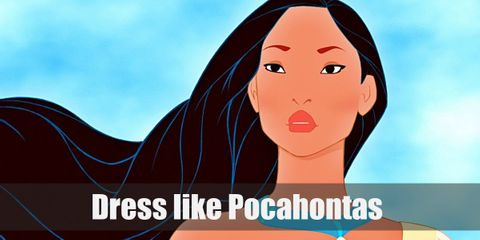 Pocahontas style is very carefree and almost kind of wild.