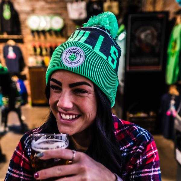 7 Hills Brewing Beanie with Pom Pom
