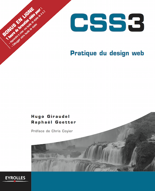 "Cover of ""CSS 3 Pratique du Design Web"""