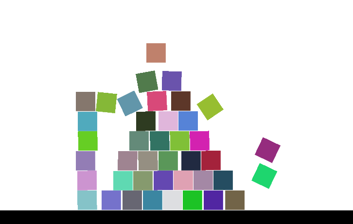 Block-Stacking Game made with Construct 3