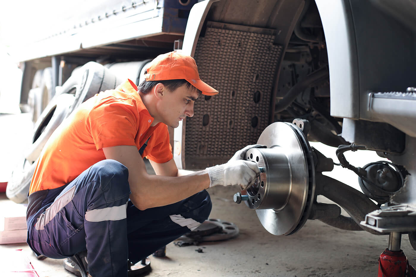 Brake safety inspection