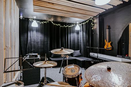 Widok z perspektywy perkusisty