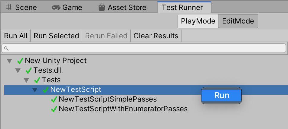 Related Content: Unity Unit Testing Basics Tutorial (C#, NUnit)