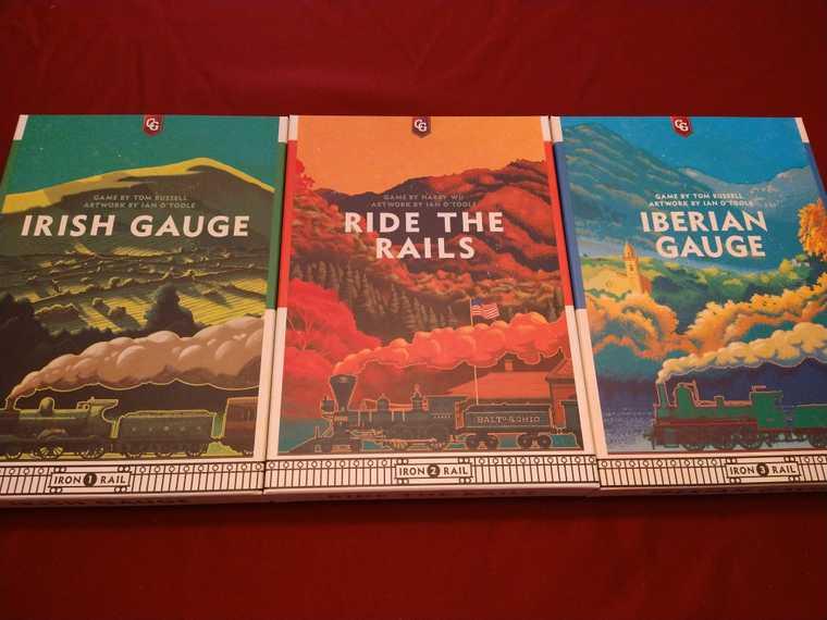Iron Rail Board game series