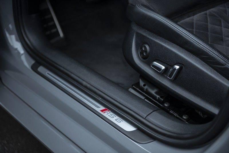Audi RS6 Performance Pro Line Plus 4.0 TFSI quattro 605PK BTW + Keramisch + Carbon + Nardo Grey + Panoramadak + 4 nieuwe banden afbeelding 8