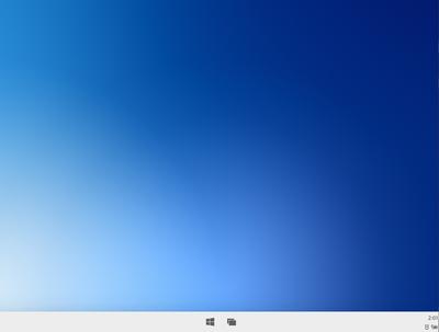 he Desktop in Windows10X