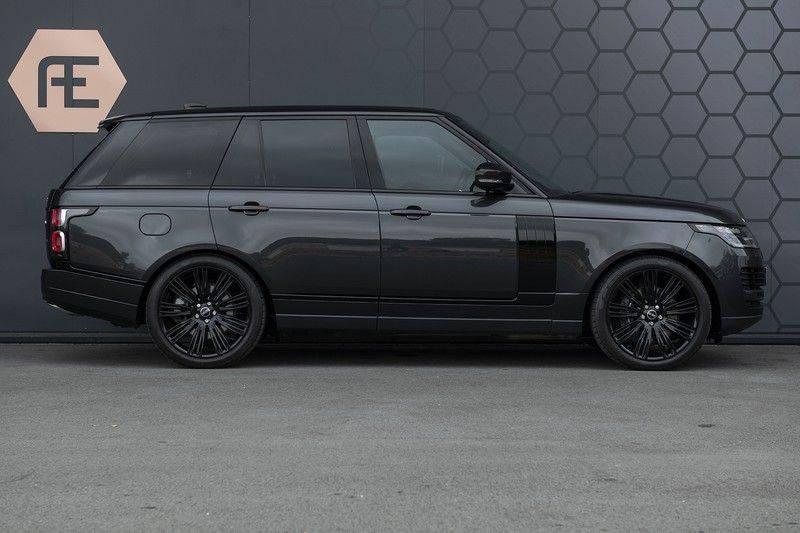 "Land Rover Range Rover 5.0 V8 SC VOGUE Black Pack Elek. Trekhaak, Head-up, 22"", Stoelverkoeling, afbeelding 7"