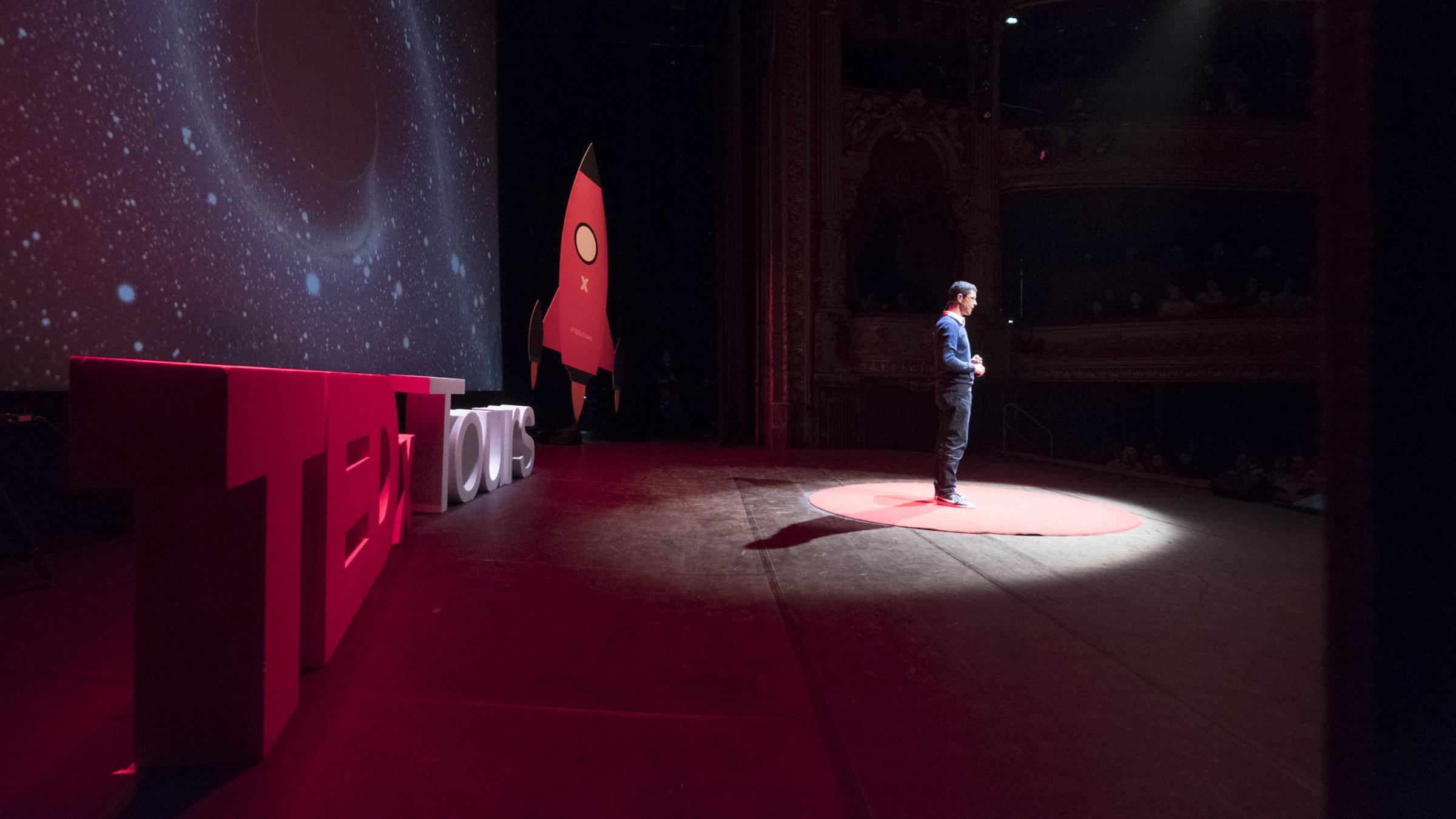 Karim Noui at TEDx Tours 2019
