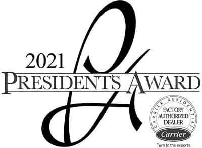 2021 Carrier Presidents Award Winner