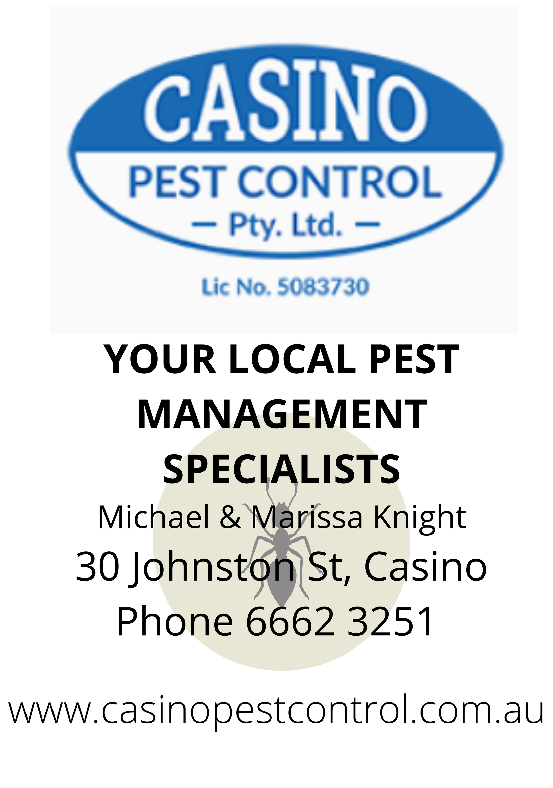 Casino Pest Control