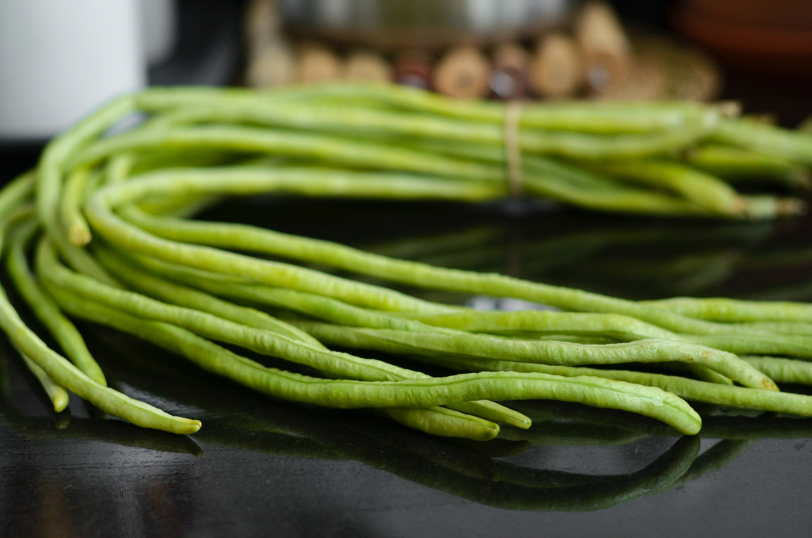Long string beans bundle