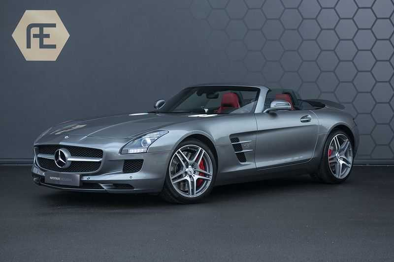Mercedes-Benz SLS Roadster 6.3 AMG Carbon Pack + MIDDLE GRAY HIMALAYAS + Full Carbon Motor afdekking afbeelding 1