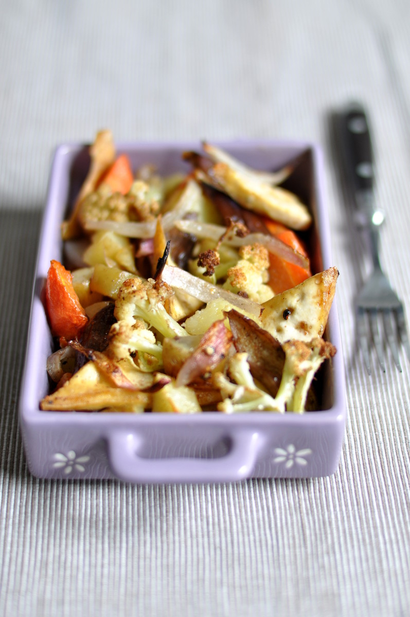 Baked Potatoes with Veggies