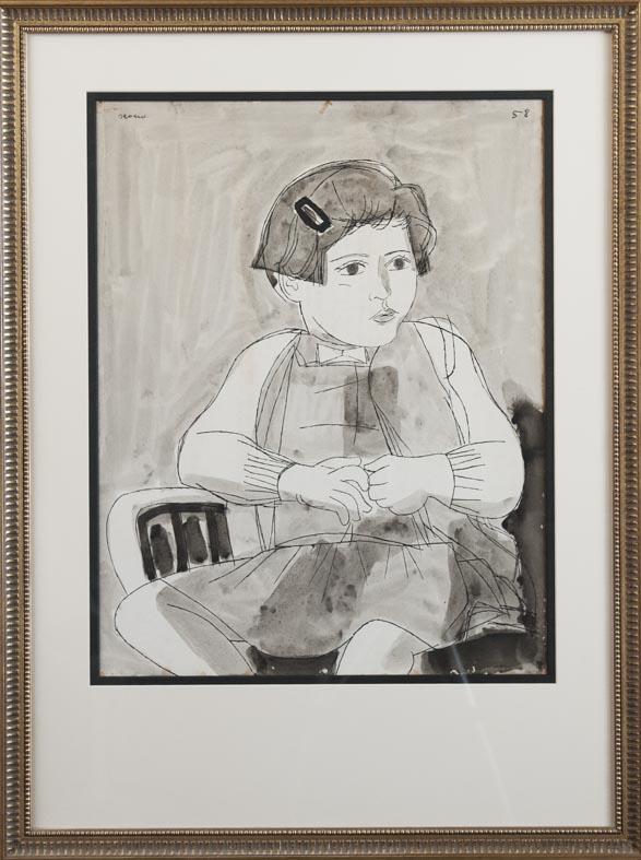 Luis Seoane - augada - 63x50 cm · aguada