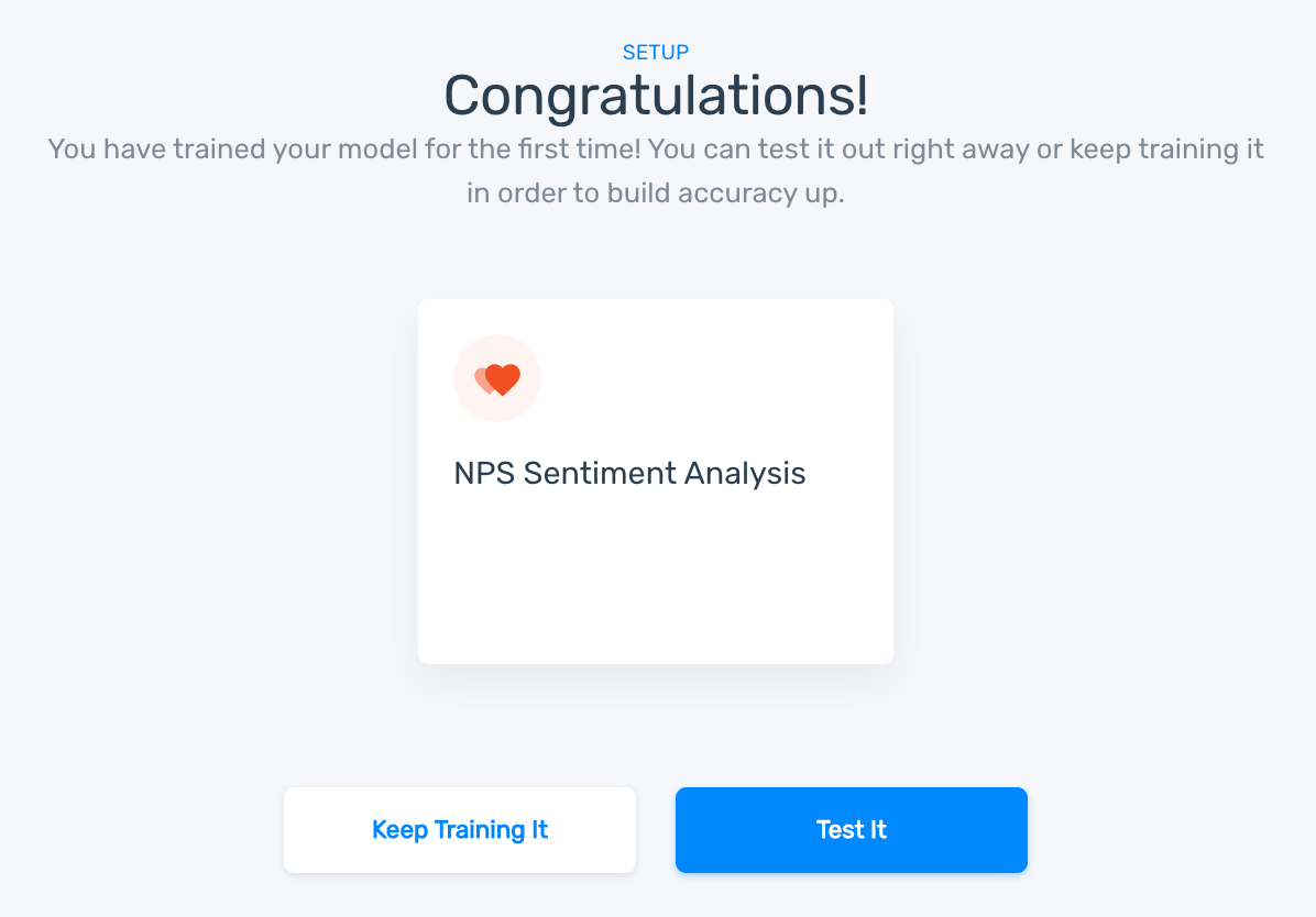 New sentiment analysis model