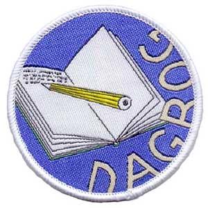 Dagbog spejdermærke