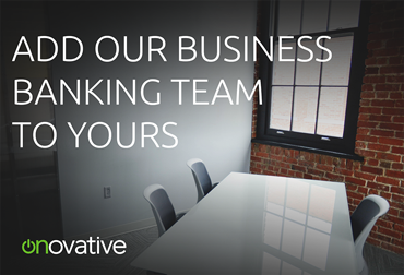 Add Our Team to Yours Business Banking Postcard
